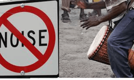 ban on drumming