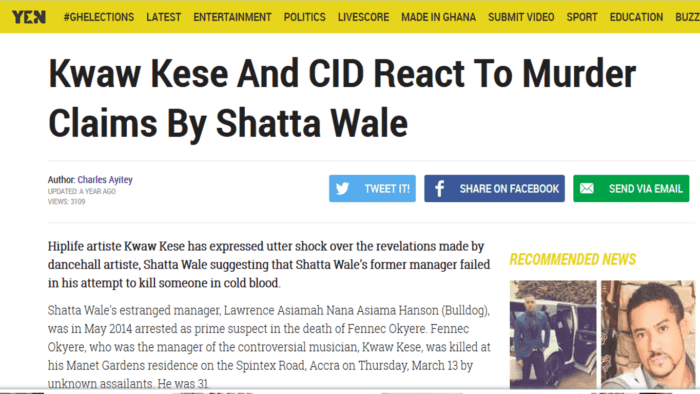 Kwaw Kese and CID react