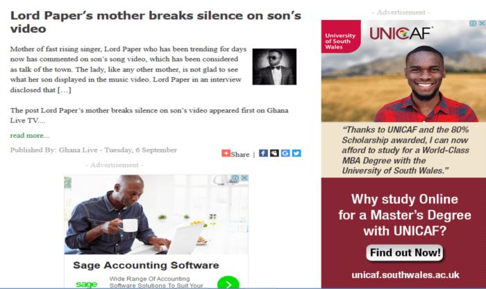 Lord Paper's mum breaks