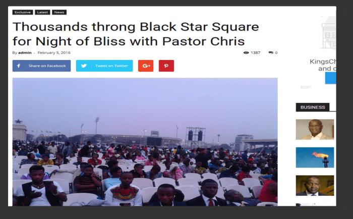 Thousands throng