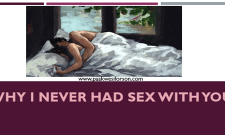i never had sex with you