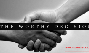 Decisions in Christian relationships