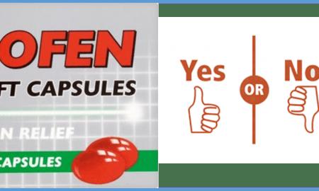 Get Ibuprofen, Not a Condom