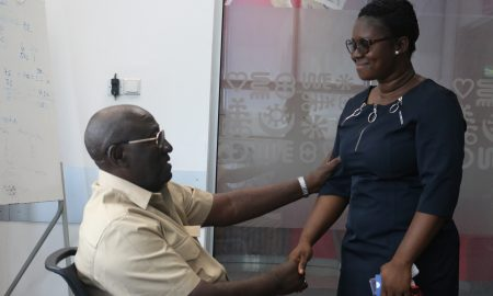 """Vodafone staff saved my life"""" - ex-President Kufour's cousin"""