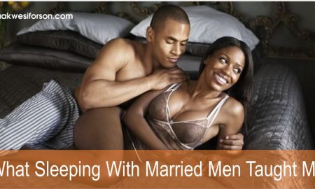 What Sleeping With Married Men Thought Me Karin Jones