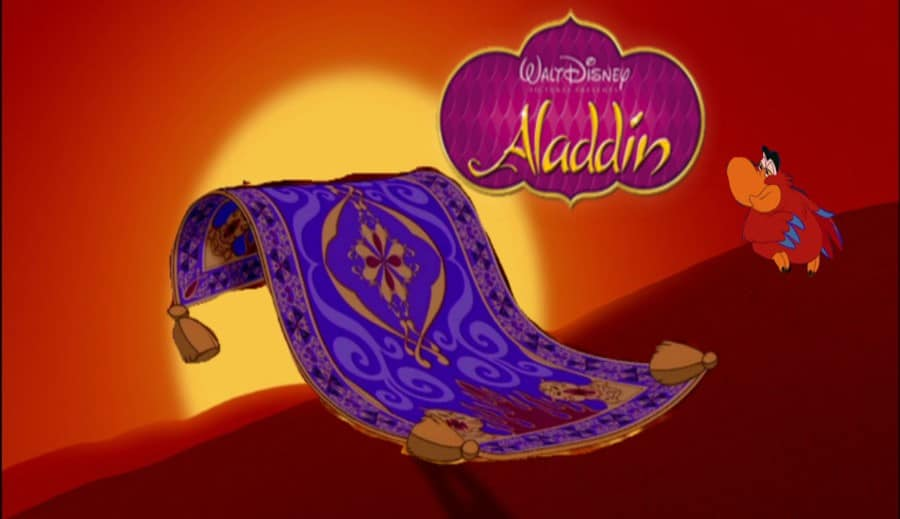 The Magic Carpet_An Aladdin inspired story
