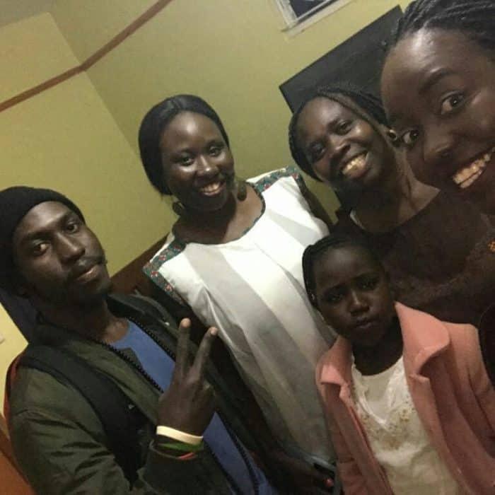 Kenyan Girl In Accra, Ghana_Eight years on