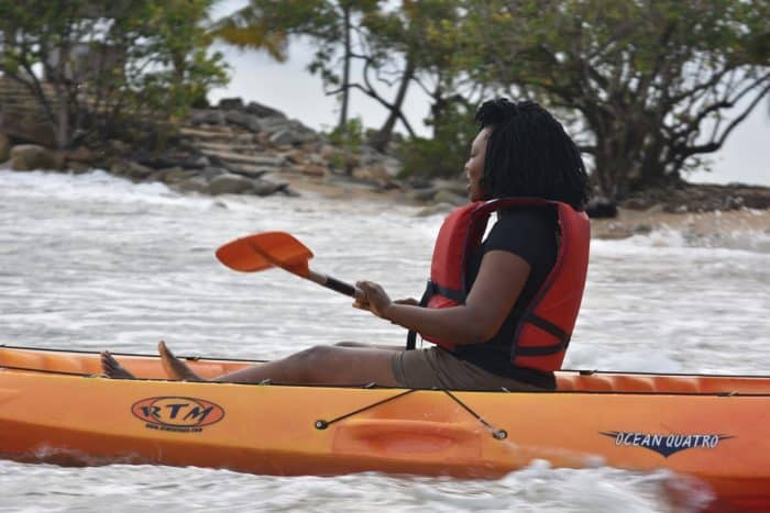 lou moon beach resort Kayaking