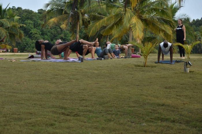 lou moon beach resort Yoga