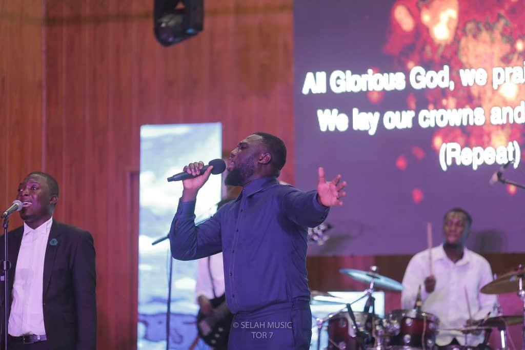 Pastor Nana Yaw Boakye at TIME OF REFLECTION BY SELAH MUSIC WORLDWIDE