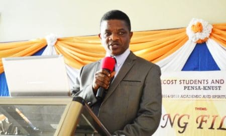 Apostle Ekow Badu Wood, Church of Pentecost Area Head
