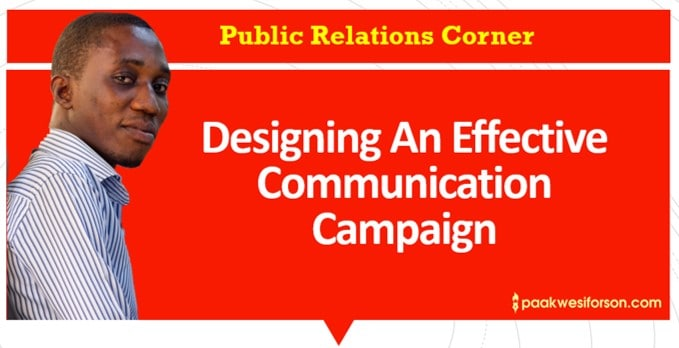 Designing An Effective Communication Campaign