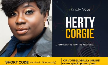 Herty Corgie named in 2019 CGMA Female Artist of the Year category