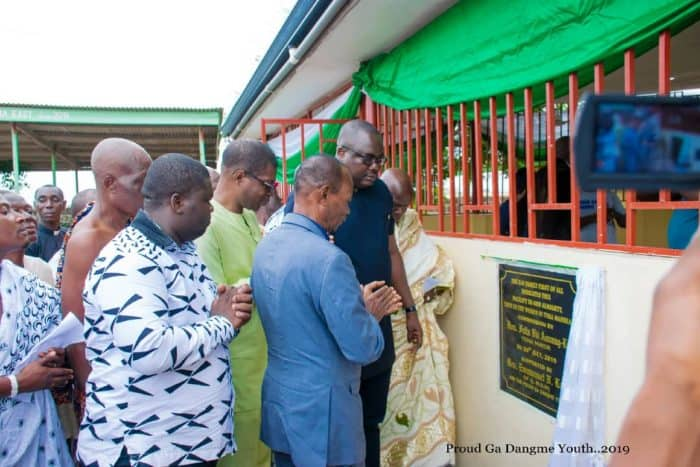 PGDY Commissions Postnatal clinic and renovated maternity ward at Manhean Polyclinic