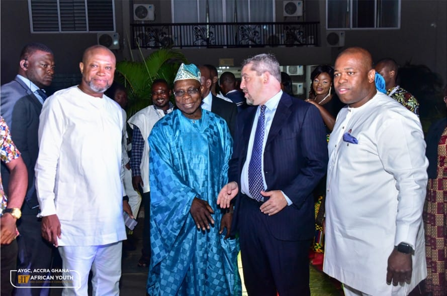 The African Youth And Governance Convergence (AYGC) His Excellency Olusegun Obasanjo