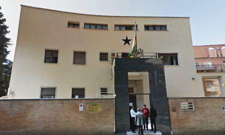 Passport Renewal at Ghana Embassy When In Rome...