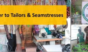 A letter to tailors and seamstresses