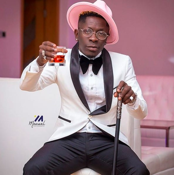 The Man Shatta Wale, face mask or exfoliation and Branding lessons
